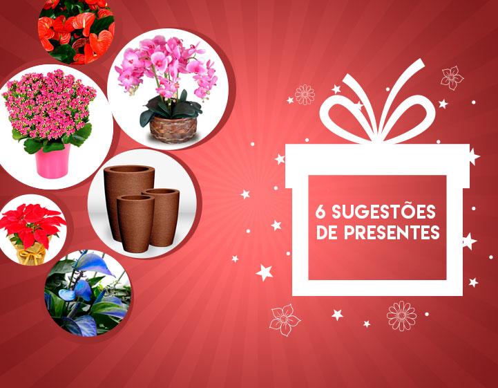6 sugestões de presentes para natal