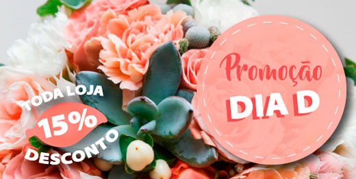 Promoção dia D na HM Jardins - Um dia com a loja toda com 15% de desconto